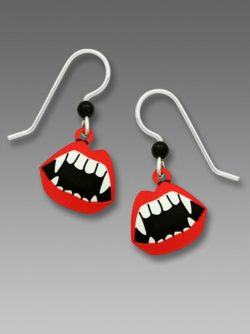 Vampire Fangs Earrings
