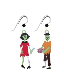 Zombie Couple Earrings