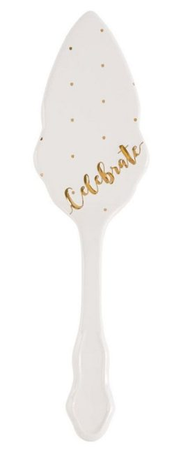 Celebrate Cake Server by Mud Pie
