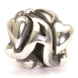 Alphabet Beads, Silver