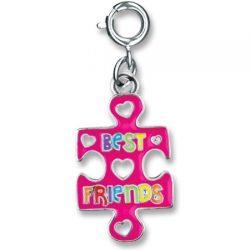 Best Friends Puzzle Piece Charm