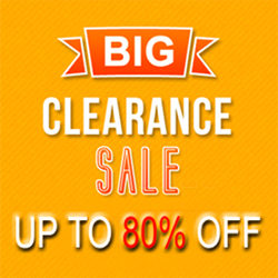 ALL CLEARANCE up to 80% OFF