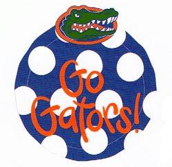 Go Gators Mini Platter and Gator Attachment