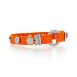 Mogo Bright Orange Charmband