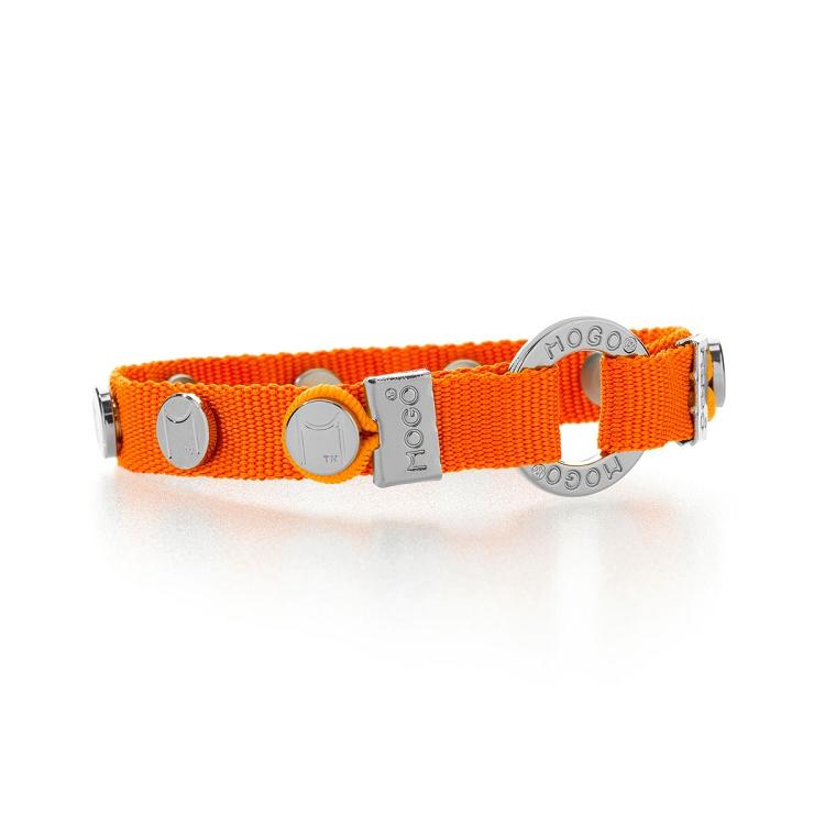 Mogo Bright Orange Charmband