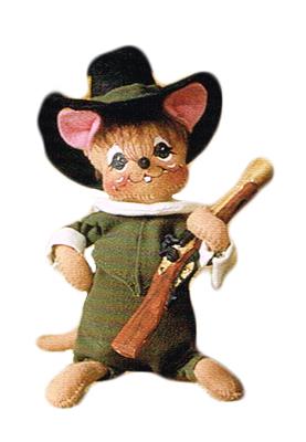 "6"" Pilgrim Boy Mouse"