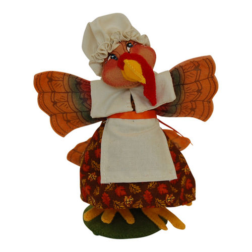 "7"" Pilgrim Girl Turkey"